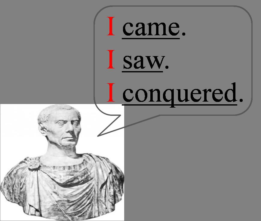 words that describe julius caesar